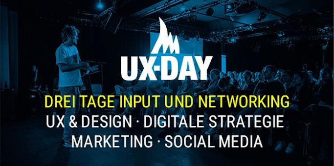 Auf dem UX-Day dreh sich alles ums Thema User Experience und Interface