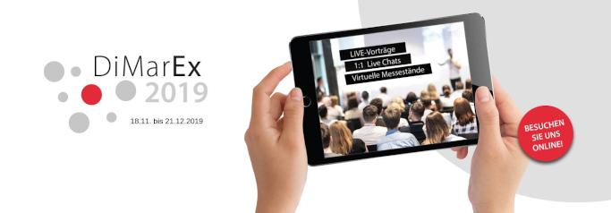 Die Messe DiMarEx ist komplett digital