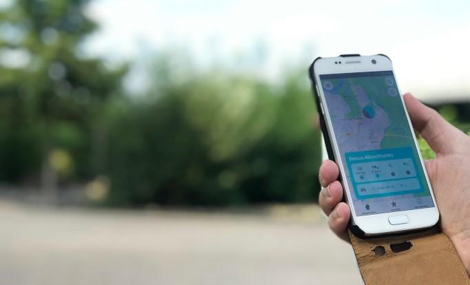 Mit der neuen Schadstoff-App kann man die Luftqualität seiner Gegend überprüfen