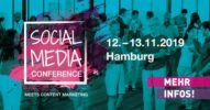 Social Media Conference 2019 [Eventtipp]