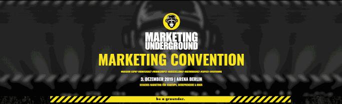 Auf der Marketing Underground erwartet dich spannender Input