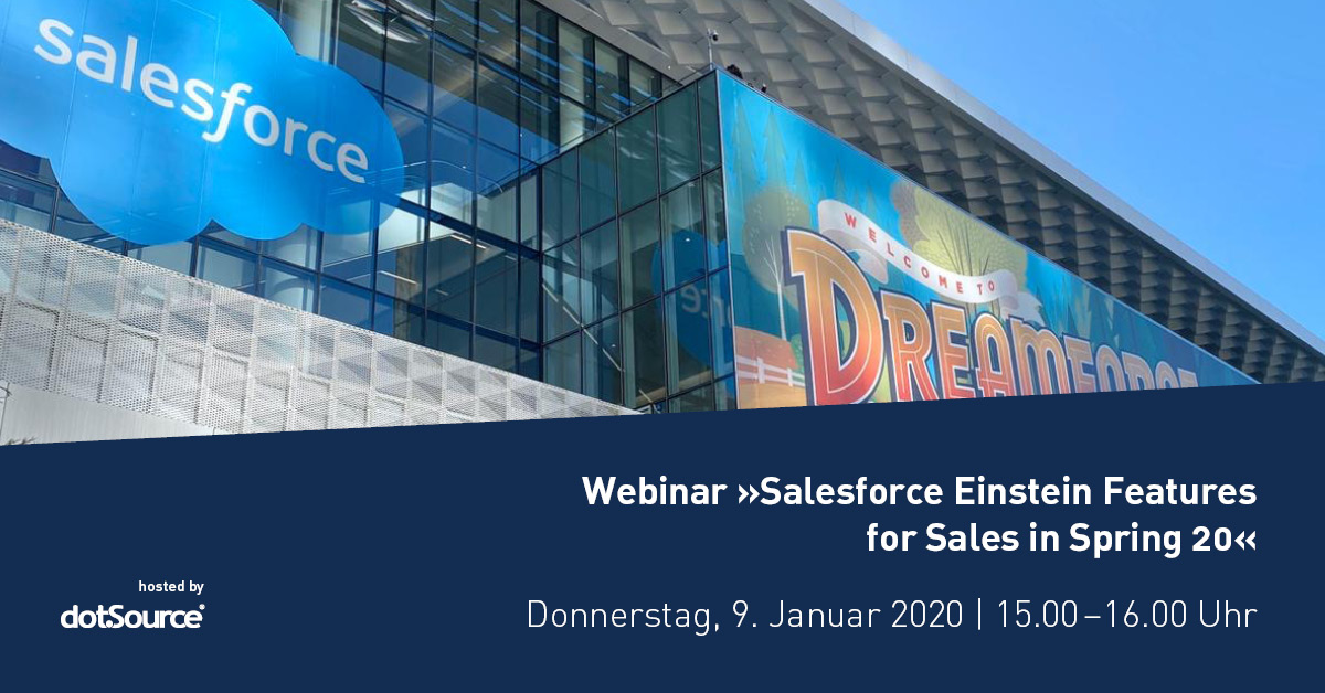 Webinar Salesforce Einstein