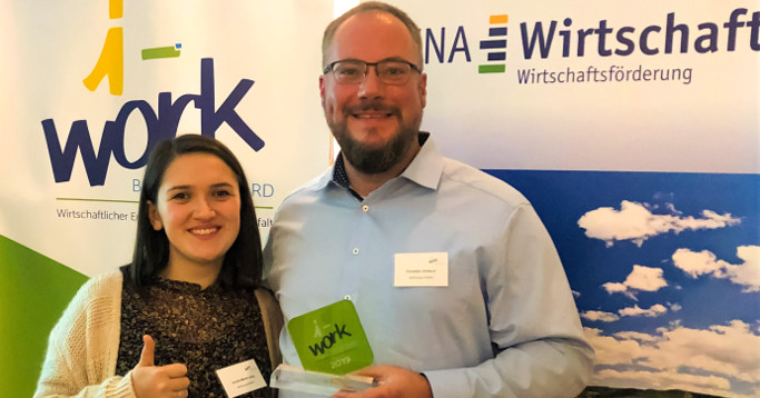 international familiär erfolgreich i-work Business Award 2019