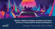 Webinar »Digitale Intelligenz entwickeln und nutzen. Commerce-Trends 2020 für Handel und Industrie.« [Last Call]