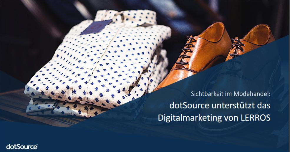 Digital-Marketing für mehr Sichtbarkeit in der Fashion-Welt: Wie LERROS ihre Onlinepräsenz erhöht und dabei Kosten senkt [Success Story]