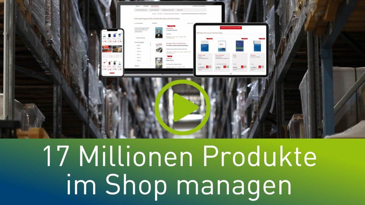 Monolith war gestern – Wie C.H. BECK 17 Millionen! Produkte in einem Onlineshop managt [Einblick der Woche]