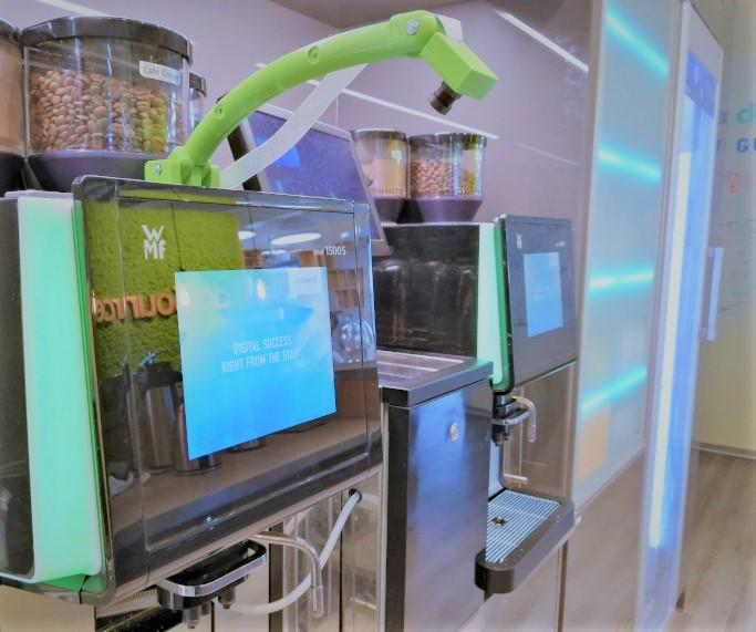 KI im Einsatz an der Kaffeemaschine