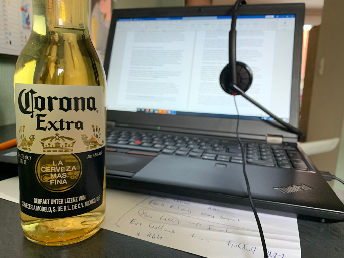 Corona Working Space Meetings