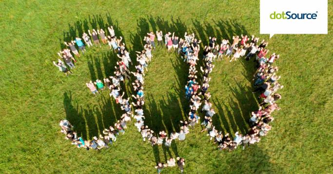 together dotsource 300 Mitarbeiter