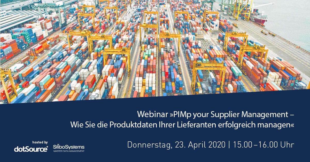 »PIMp your Supplier Management – Wie Sie die Produktdaten Ihrer Lieferanten erfolgreich managen« [Webinar]