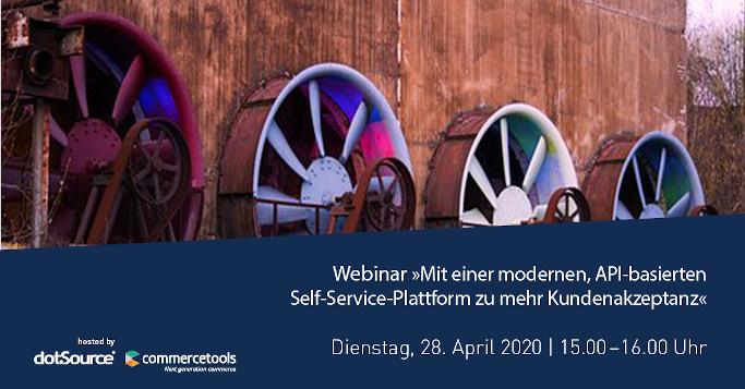 »Mit einer modernen, API-basierten Self-Service-Plattform zu mehr Kundenakzeptanz« [Webinar]