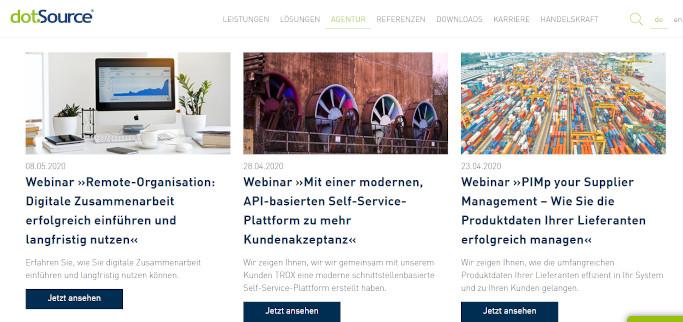 Handelskraft Highlights Webinare