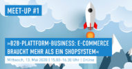 »B2B-Plattform-Business: E-Commerce braucht mehr als ein Shopsystem« [Salesforce Meet-up #1]