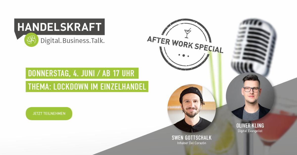 Digital. Business. Talk. – Afterwork Special #1 Support your Local Heroes!