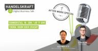 Digital. Business. Talk. – Afterwork Special #3 Boom oder Crash?