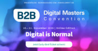 B2B Digital Masters Convention 2020 – Jetzt Early-Bird-Tickets sichern!