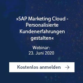 SAP Marketing Cloud Webinar