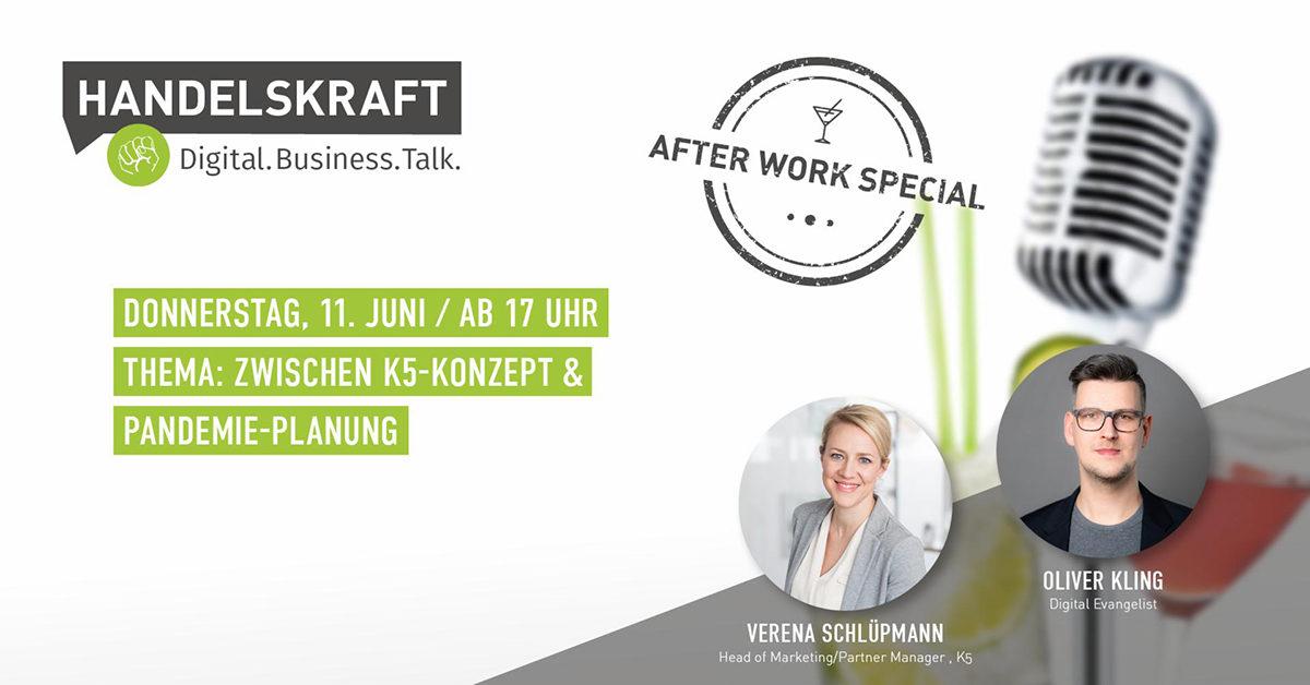 Zwischen K5-Konzept & Pandemie-Planung – Verena Schlüpmann heute im Talk