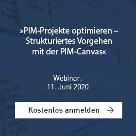 PIM-Projekte optimieren – Strukturiertes Vorgehen mit der PIM-Canvas