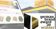 Netto erhält German Brand Award 2020