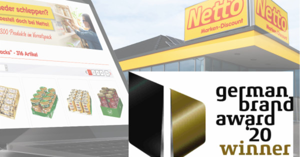 Netto erhält German Brand Award 2020