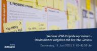»PIM-Projekte optimieren – Strukturiertes Vorgehen mit der PIM-Canvas« [Webinar]