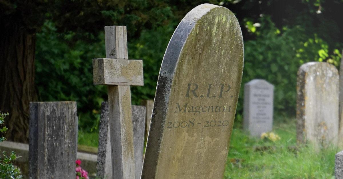 RIP Magento 1: Migration ist jetzt!
