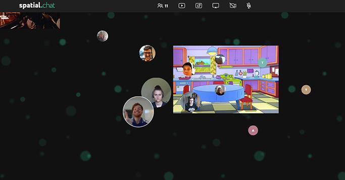 Virtuelle Parties feiern