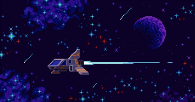 Zwei Astronauten Dinosaurier