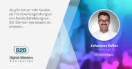 Wie bex den Beschaffungsprozess im Bau vereinfacht – B2BDMC20-Speaker Johannes Keller [Interview]