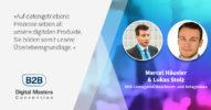 BHS Corrugated im Rennen um die digitale Herrschaft in der Wellpappenindustrie – B2BDMC-Speaker Marcel Häusler & Lukas Stolz [Interview]