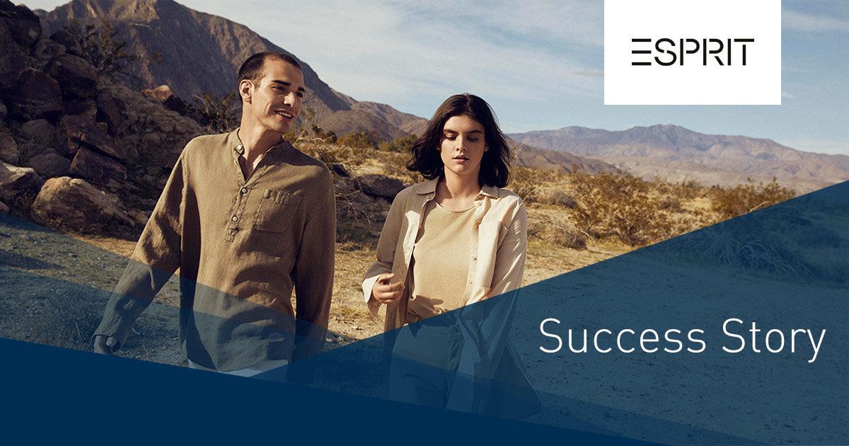 Innovation im Fashion-Retail: ESPRIT startet die Aufholjagd gegen die Online-Platzhirsche mit neuem Image und moderner Systemlandschaft [Success Story]