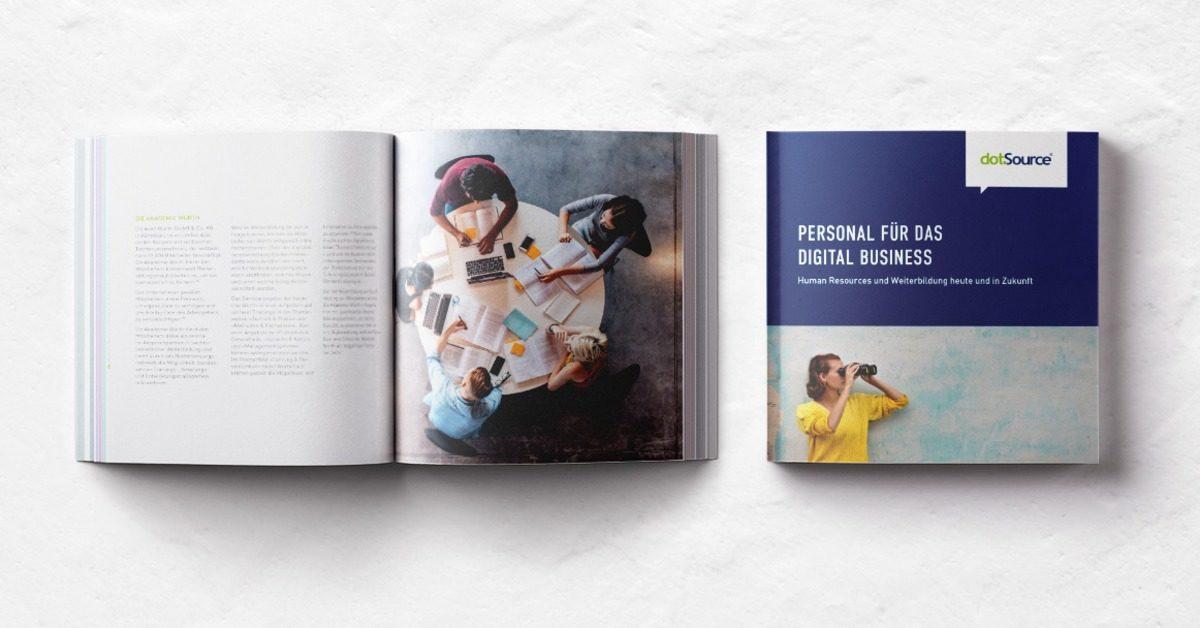 Personal für das Digital Business – Human Resources und Weiterbildung heute und in Zukunft [Neues Whitepaper]