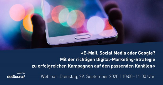 Webinar | Digital-Marketing-Strategie auswählen