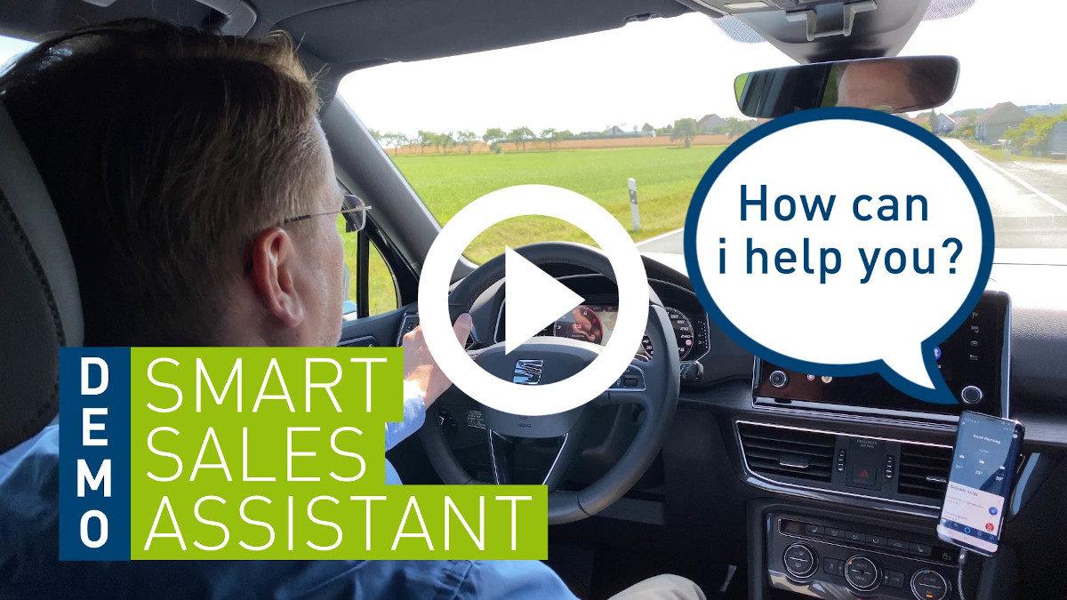 CRM to go: Mit dem dotSource Voice Assistant mobil zu smarteren Salesprozessen [Einblick der Woche]