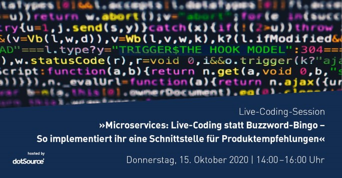 Live Coding Webinar Microservices