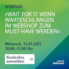 Webinar Warteschlangen in Webshops Queue-it