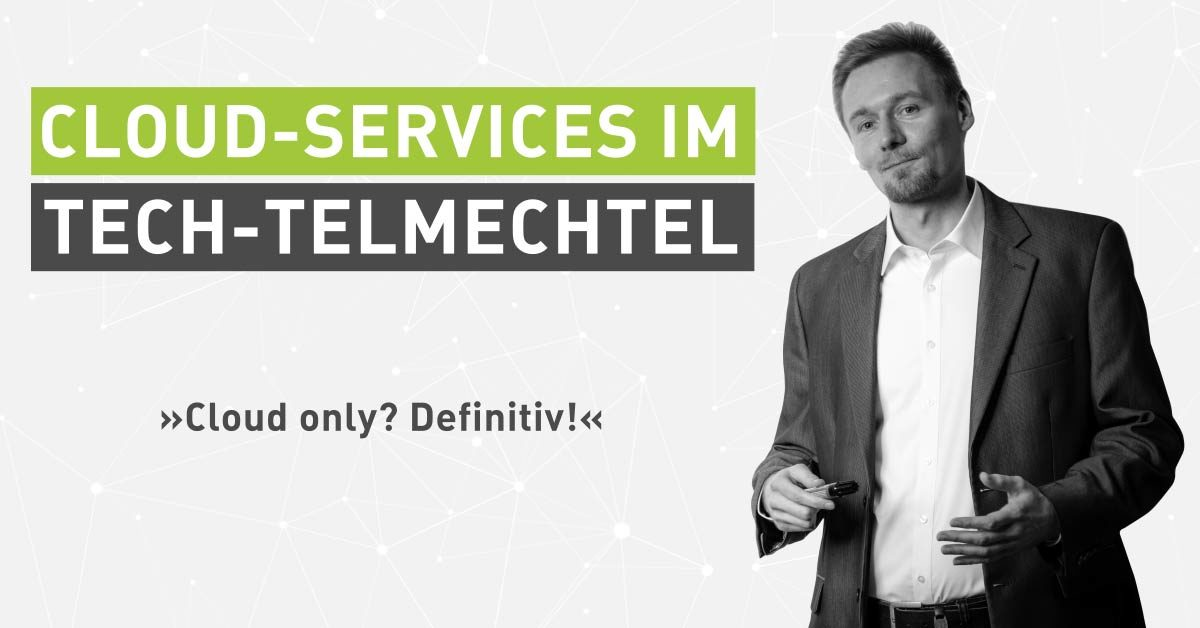 Tech-Talk mit einem Systemarchitekten: Cloud-Services im Tech-telmechtel [Interview]