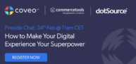 »How to Make Your Digital Experience Your Superpower« [Partnerwebinar]