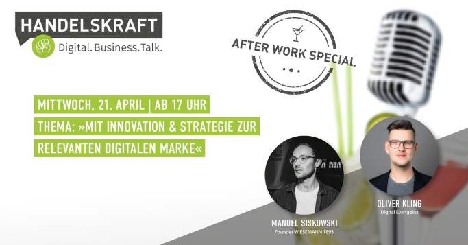 Digital Business Talk Afterwork Special Manuel Siskowski