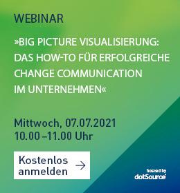 Big Picture Visualisierung Strategie Webinar