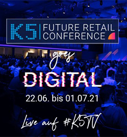 »K5 Future Retail Conference« [Eventtipp]