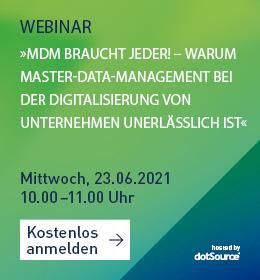 MDM Master-Data-Management Webinar