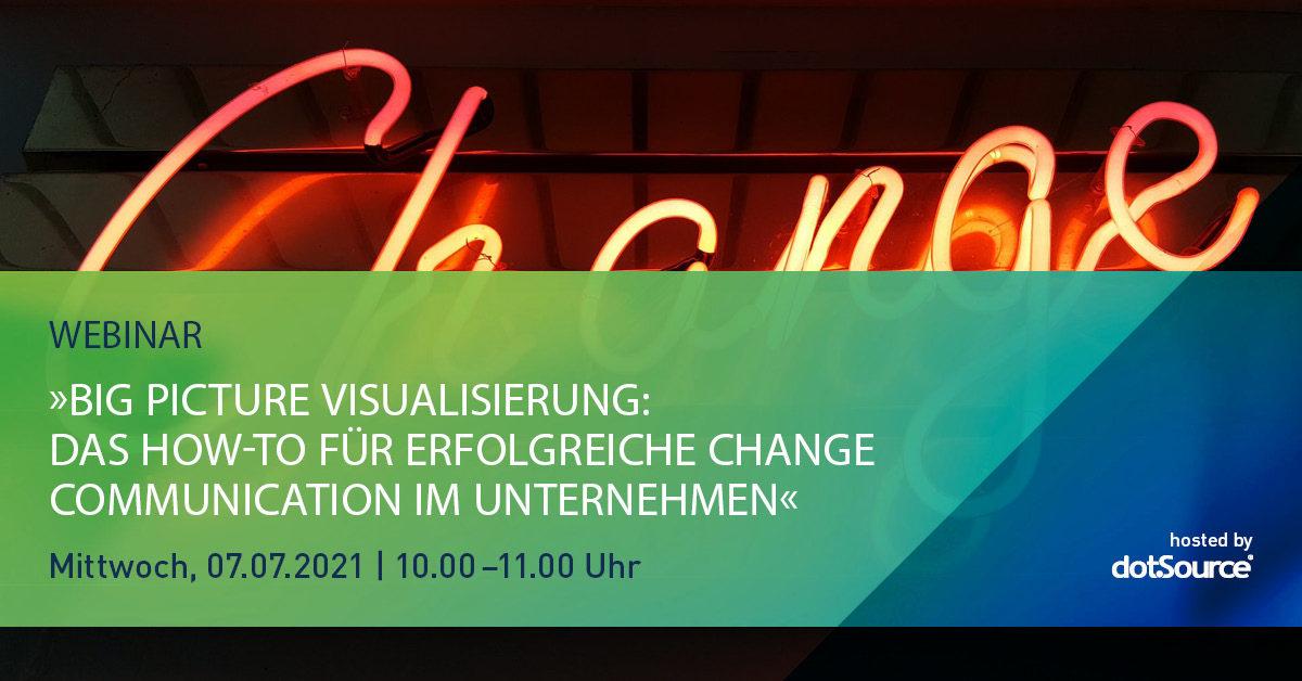 »Big Picture Visualisierung: Das How-to für erfolgreiche Change Communication im Unternehmen« [Webinar]