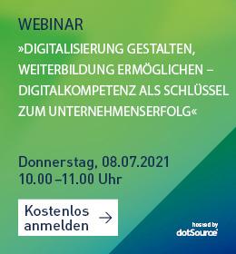 Digitalkompetenz Weiterbildung DBS Webinar