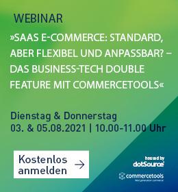 SaaS Commercetools Webinar