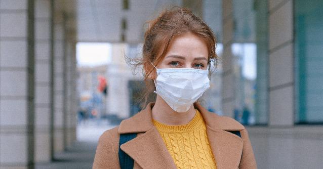 Mundschutz weist Infektion nach
