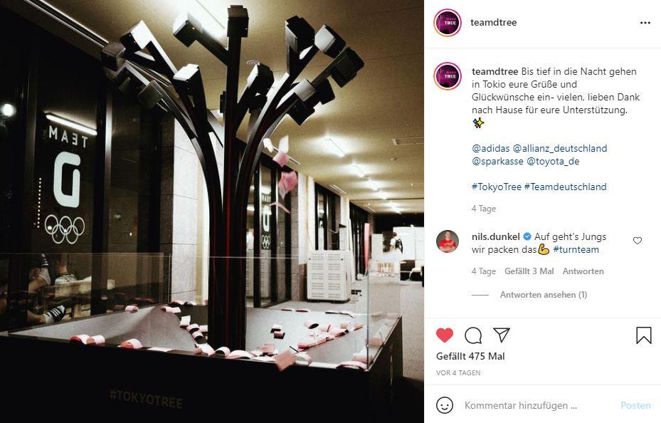 TokyoTree Olympia Instagram