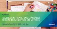 »Webdesign: Trends und Standards für eine nutzerzentrierte Website« [Webinar]