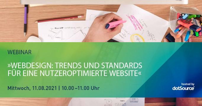 Webdesign Webinar Trends und Standards